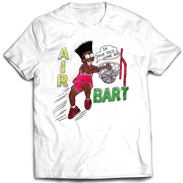Vintage Style Bootleg Bart In Yo Face T-shirt