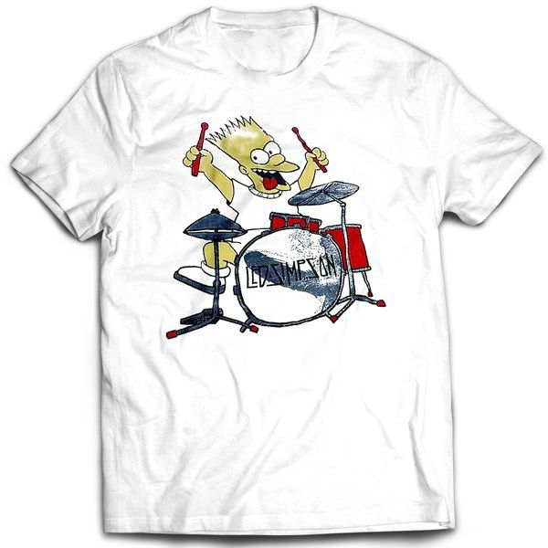 Vintage Style Bootleg Bart Led Simpson T-shirt