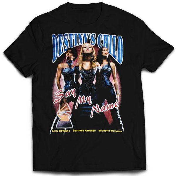 Vintage Style Destiny's Child Rap T-shirt
