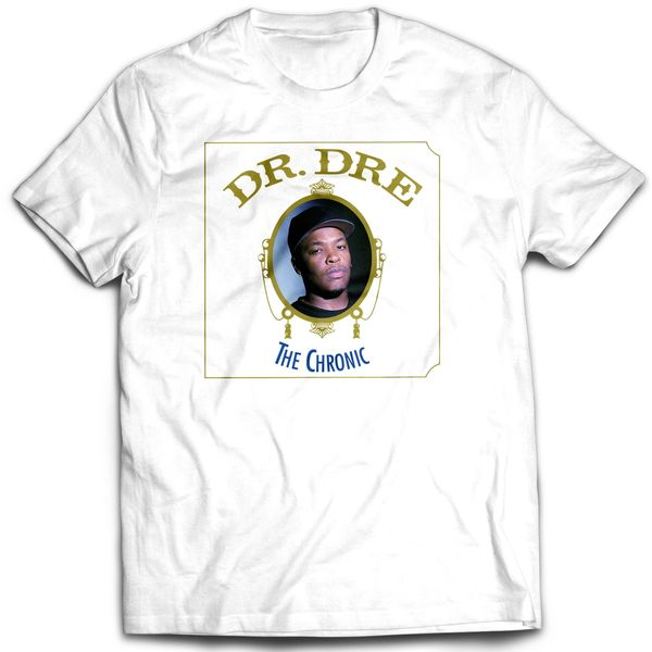 Vintage Style Dr. Dre The Chronic Rap T-shirt