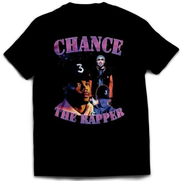 Vintage Style Chance The Rapper Rap T-shirt