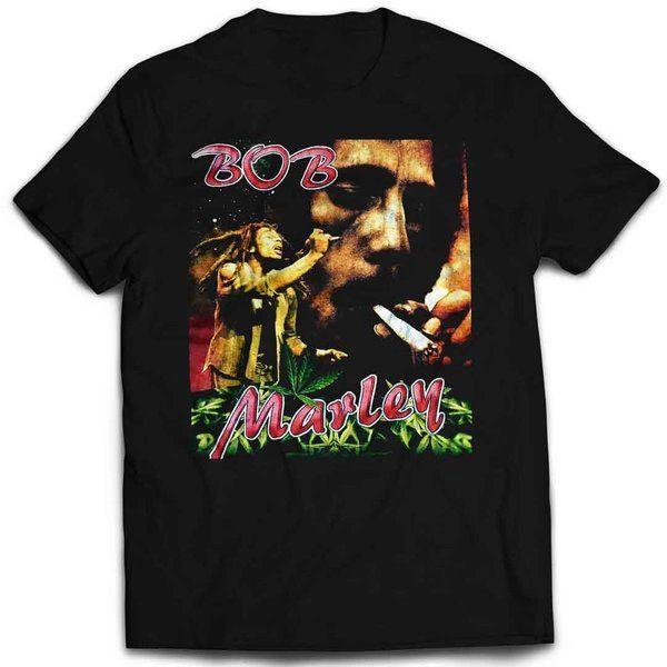 Vintage Style Bob Marley Rap T-shirt