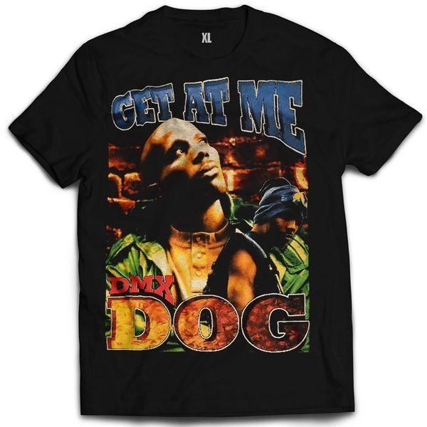 Vintage Style DMX Get At Me Dog Rap T-shirt