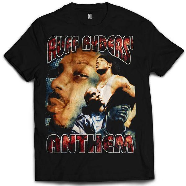Vintage Style DMX Ruff Ryders Anthem Rap T-shirt