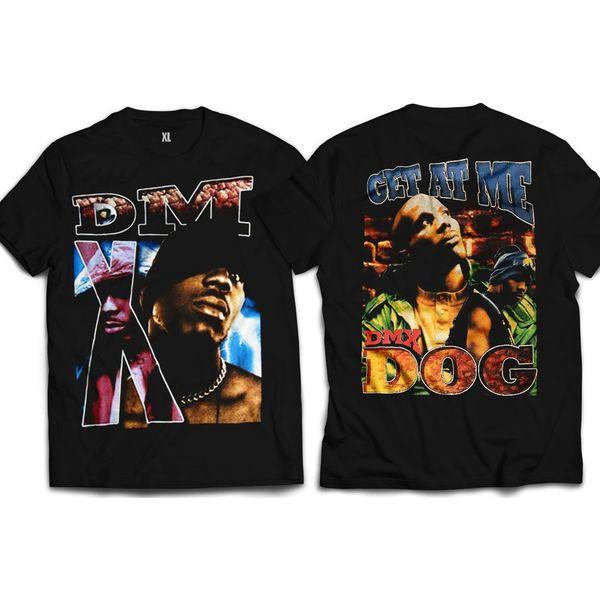 Vintage Style DMX Get At Me Dog Front & Back Rap T-shirt
