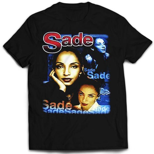 Vintage Style Sade Tour Rap T-shirt