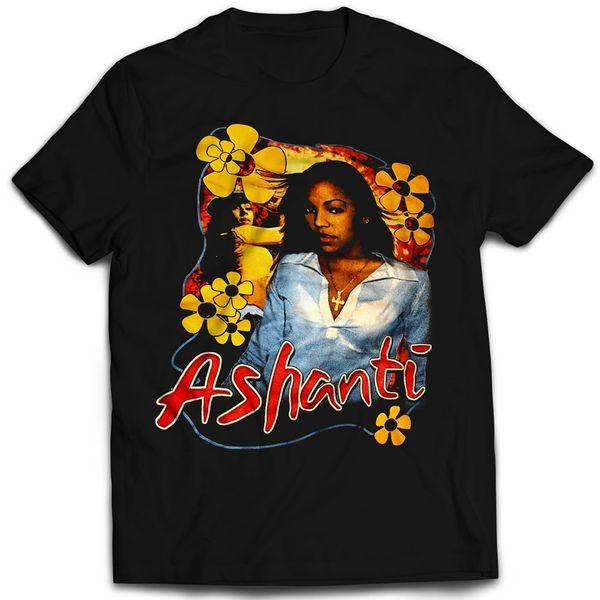 Vintage Style Ashanti Rap T-shirt