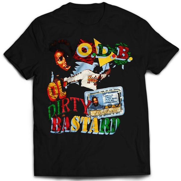 Vintage Style Ol' Dirty Bastard Rap T-shirt