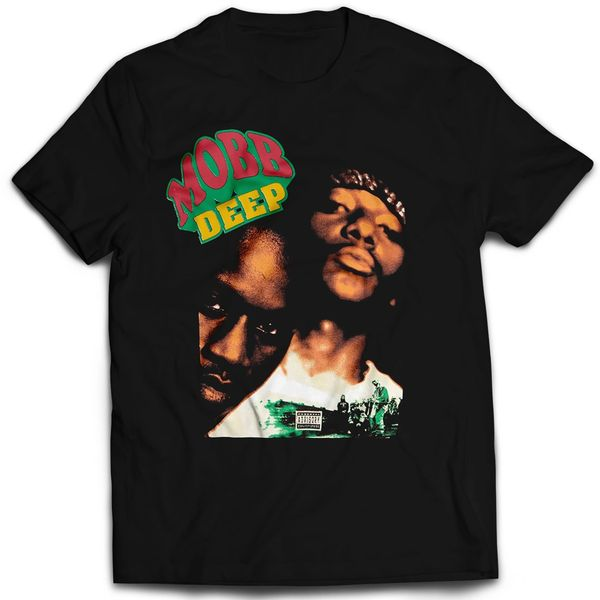 Vintage Style Mobb Deep Rap T-shirt