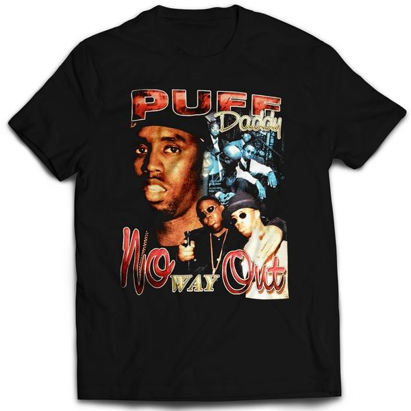 Vintage Style Puff Daddy No Way Out Rap T-shirt