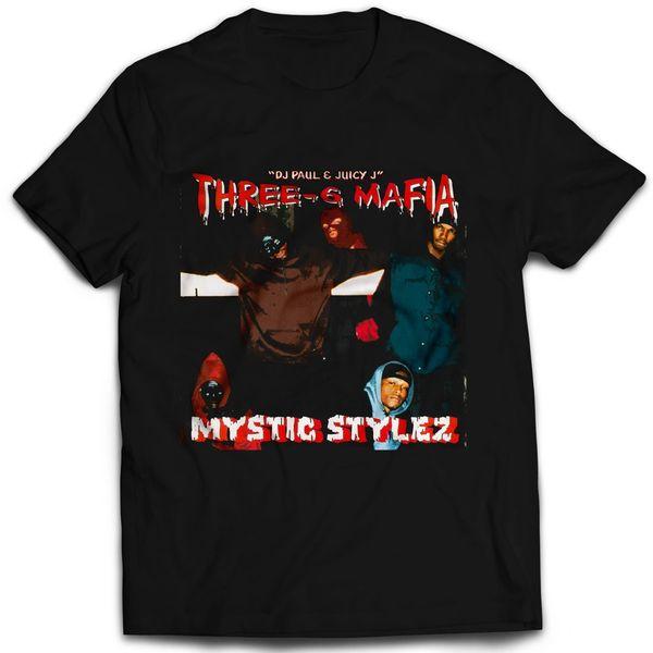 Vintage Style Three 6 Mafia Mystic Stylez Rap T-shirt