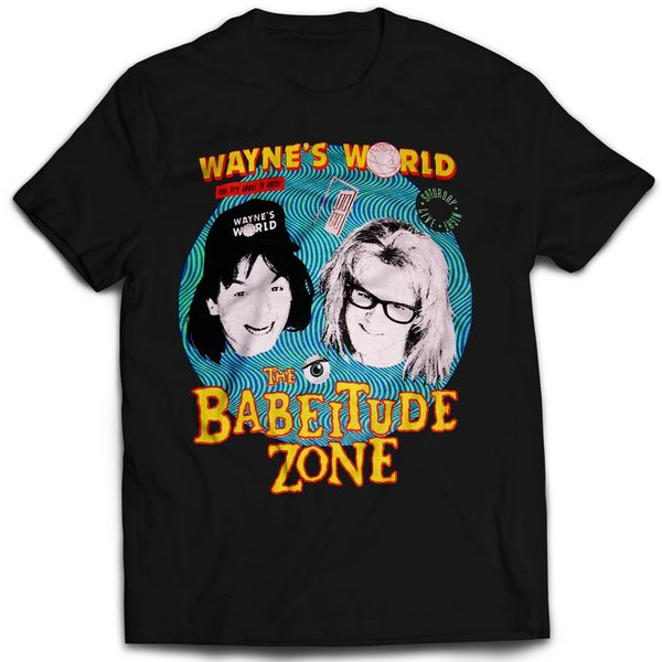 Wayne's World The Babeitude Zone T-shirt