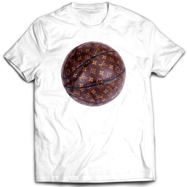 Vintage Mint LTD Ball Out Vuitton Basketball T-shirt