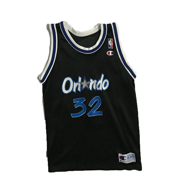 Vintage Orlando Magic Shaquille O'Neal (SHAQ) Basketball Champion Jersey