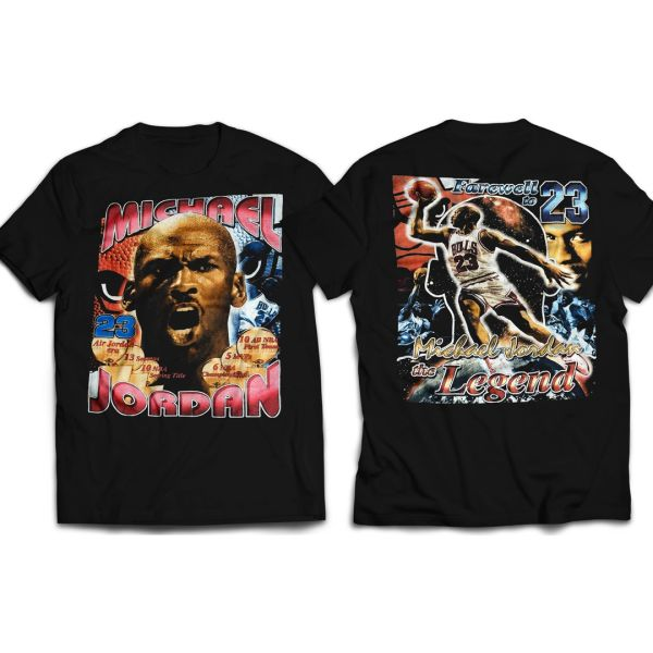 Vintage Style Michael Jordan The Legend T-shirt