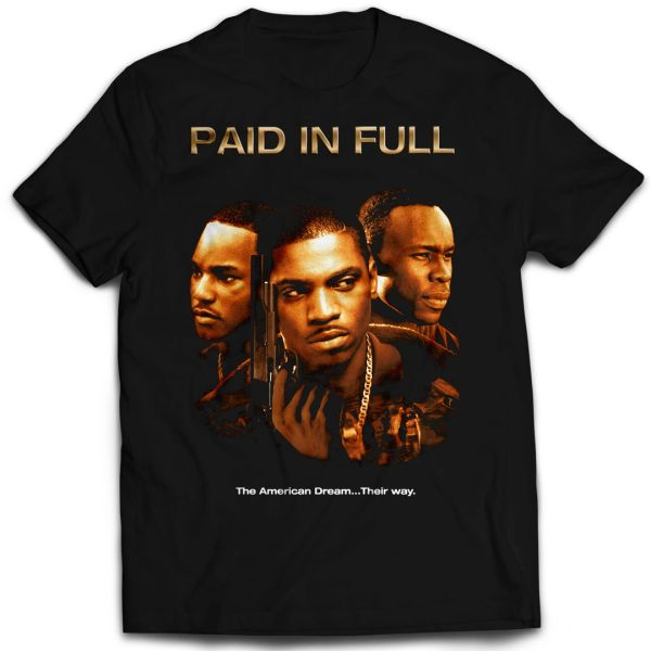 Vintage Style Paid In Full Movie T-shirt