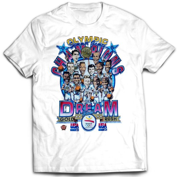 Team USA Gold Rush Dream Team T-shirt