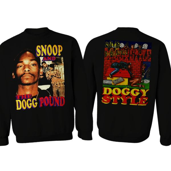 Vintage Style Snoop Dogg And The Dogg Pound Doggystyle Rap Sweatshirt