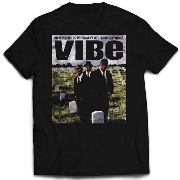Vintage Style VIBE Hip Hop Murders Rap T-shirt
