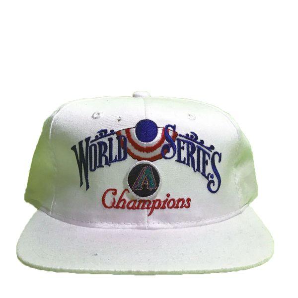 Vintage Arizona Diamondbacks MLB 2001 World Series Champions Snapback Hat