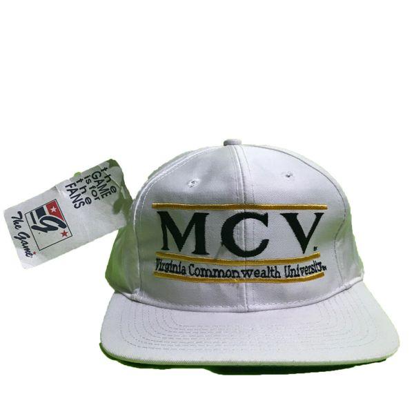 Vintage MCV Virgina Commonwealth University The Game Snapback Hat