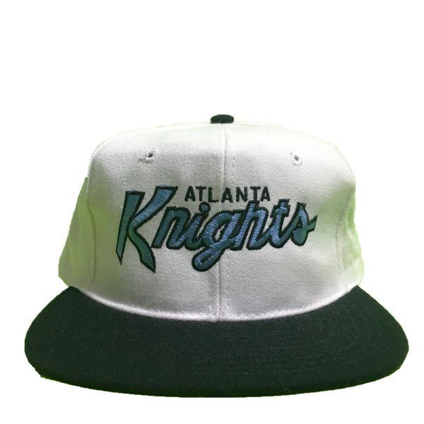 Vintage Atlanta Knights IHL Script Snapback Hat