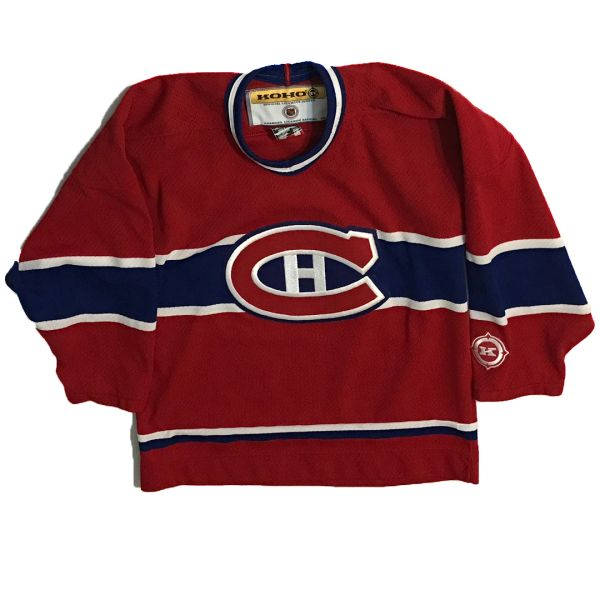 Vintage NHL Montreal Canadiens KOHO Hockey Jersey