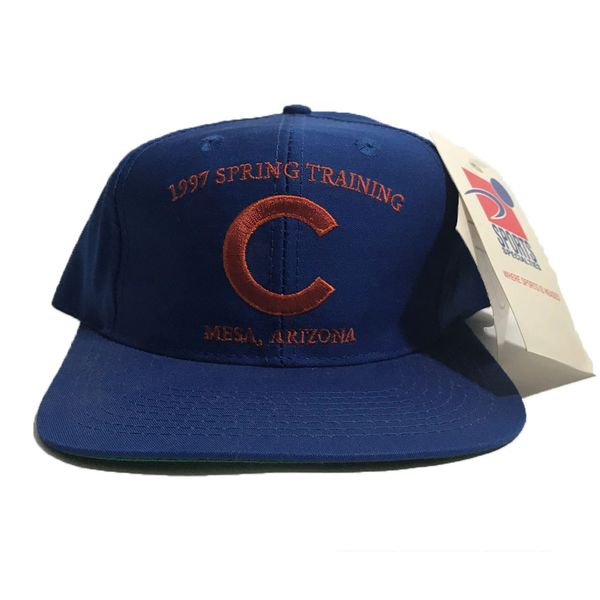 Vintage Chicago Cubs 1997 MLB Spring Training Sports Specialties Snapback Hat