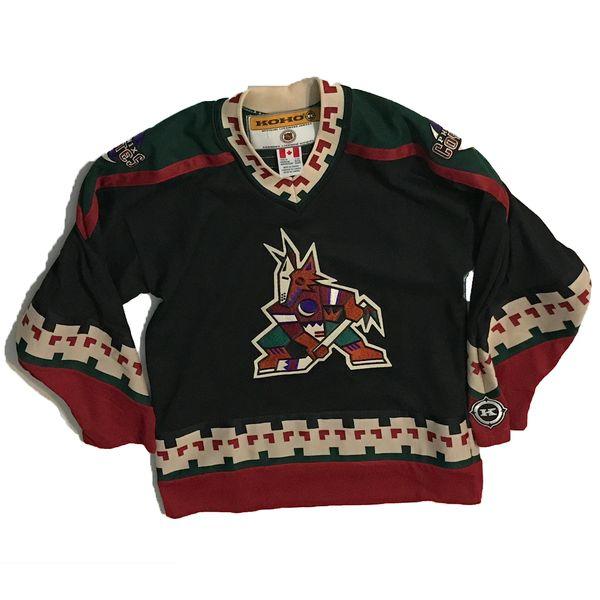 Vintage NHL Phoenix Coyotes KOHO Away Hockey Jersey