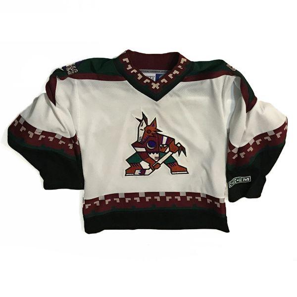 Vintage NHL Phoenix Coyotes CCM Home Hockey Jersey