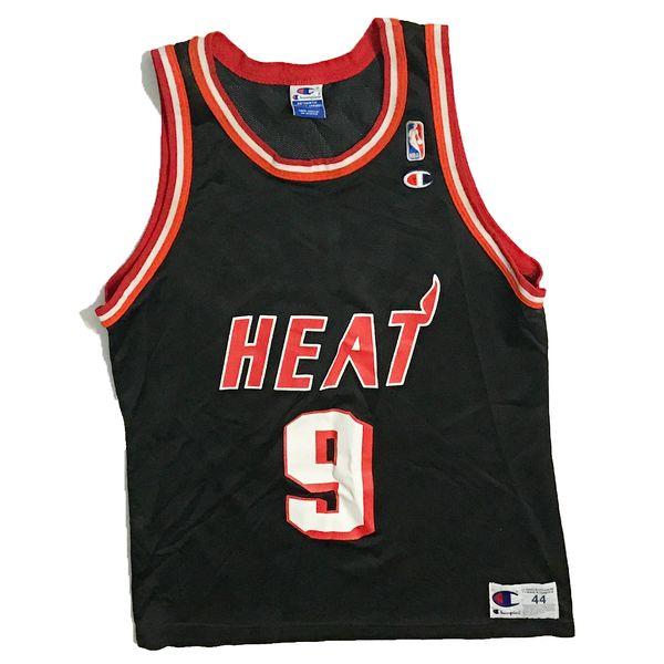 Vintage Miami Heat Dan Majerle Basketball Champion Jersey