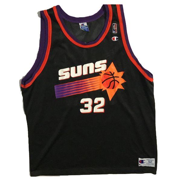 Vintage Phoenix Suns Jason Kidd Basketball Champion Jersey