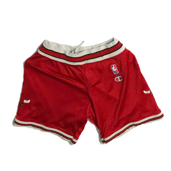 Vintage NBA Chicago Bulls Basketball Champion Jersey Shorts