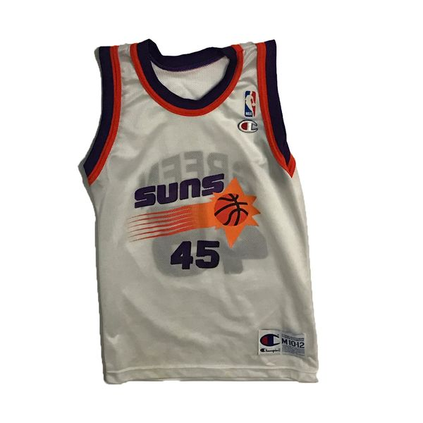 Vintage Phoenix Suns A.C. Green Home Basketball Champion Jersey