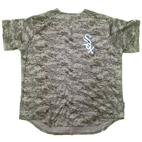 Chicago White Sox MLB Digital Camo Majestic Baseball Jersey