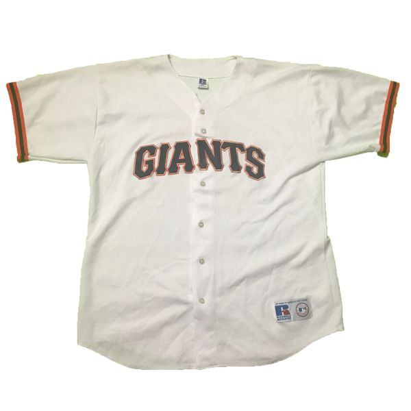 Vintage San Francisco Giants MLB Russell Athletic Baseball Jersey