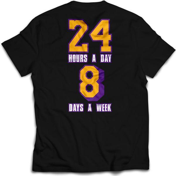 Vintage Mint LTD Kobe 24 Hours A Day 8 Days A Week T-shirt