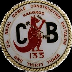 NMCB 133 JFK COIN