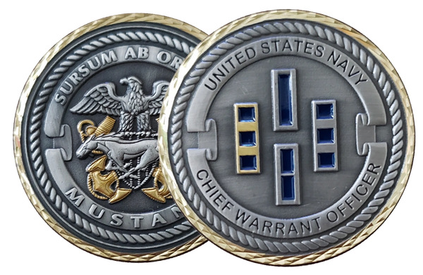 CHIEF WARRANT OFFICER COIN #2