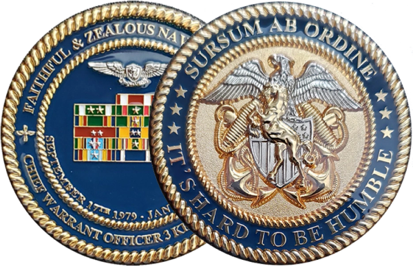 Sample Personal Retirement Coin - Not For Sale