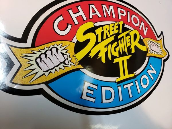 Street Fighter 2 Championship Edition Side Art Set