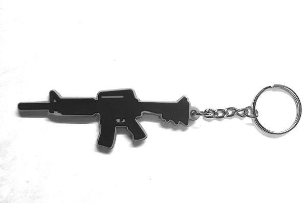 Badass Ar15 Merica Keychain Metal Fabrication Parts For