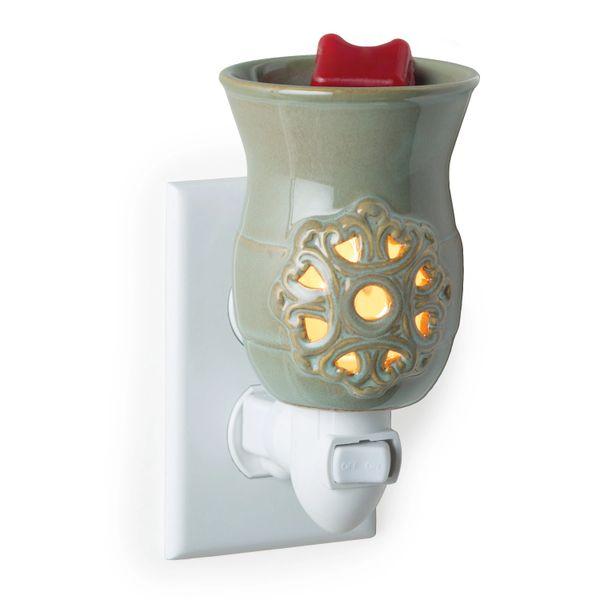 Warmer | Green Medallion Plug-In