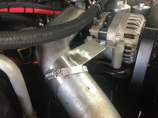 6.0 Turbo CAC Tube & Boot Support Bracket