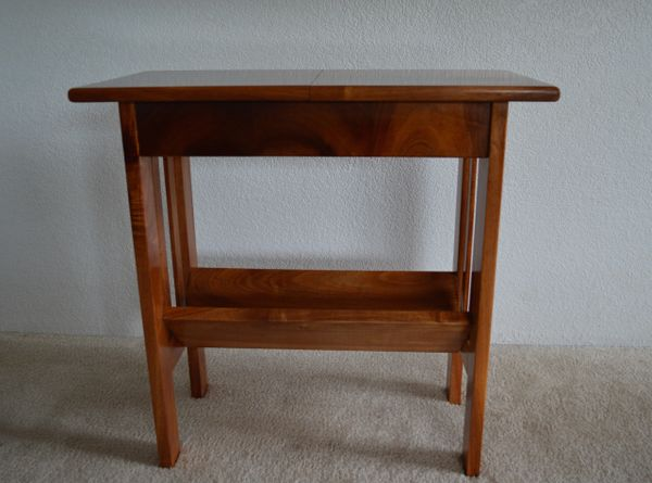 Hawaiian Koa Flip Top Side Table