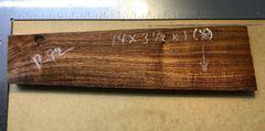 Hawaiian Koa Board Curly 4/4 #R-92