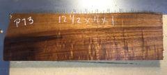 Hawaiian Koa curly 4/4 board #P-73