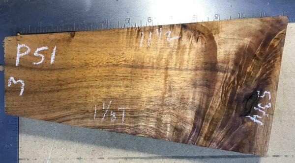 Hawaiian Koa Board 4/4 #P-51