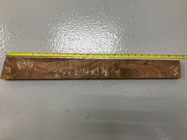 Hawaiian Koa Board Curly 4/4 #R-48