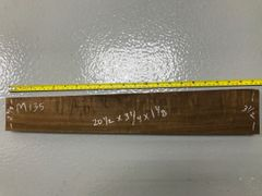 Hawaiian Koa Board Curly 4/4 #M-135